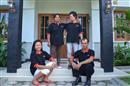 The staff of Villa Ditya
