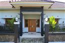 The entrance of Villa Ditya